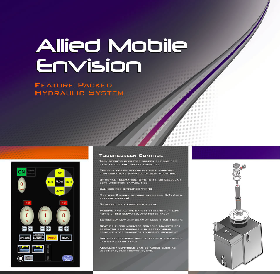 Allied Mobile Envision - Feature Packed Hydraulic System